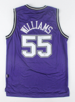 Jason Williams Signed Kings Jersey (Beckett Hologram) at PristineAuction.com