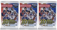 Lot of (3) 2017 Panini Rookies & Stars Football Retail Packs with (10) Cards Per Pack at PristineAuction.com