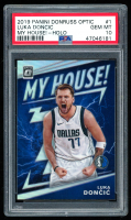 Luka Doncic 2019-20 Donruss Optic My House Holo #1 (PSA 10) at PristineAuction.com