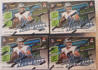 Lot of (4) 2020 Panini Absolute Football Blaster Box with (8) Packs at PristineAuction.com