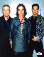 """""""Creed"""" 8x10 Photo Band-Signed by (3) with Scott Stapp, Mark Tremonti, & Scott Phillips (PSA Hologram) at PristineAuction.com"""