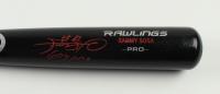 "Sammy Sosa Signed Rawlings Pro Model Baseball Bat Inscribed ""609 HRs"" (Beckett Hologram) at PristineAuction.com"