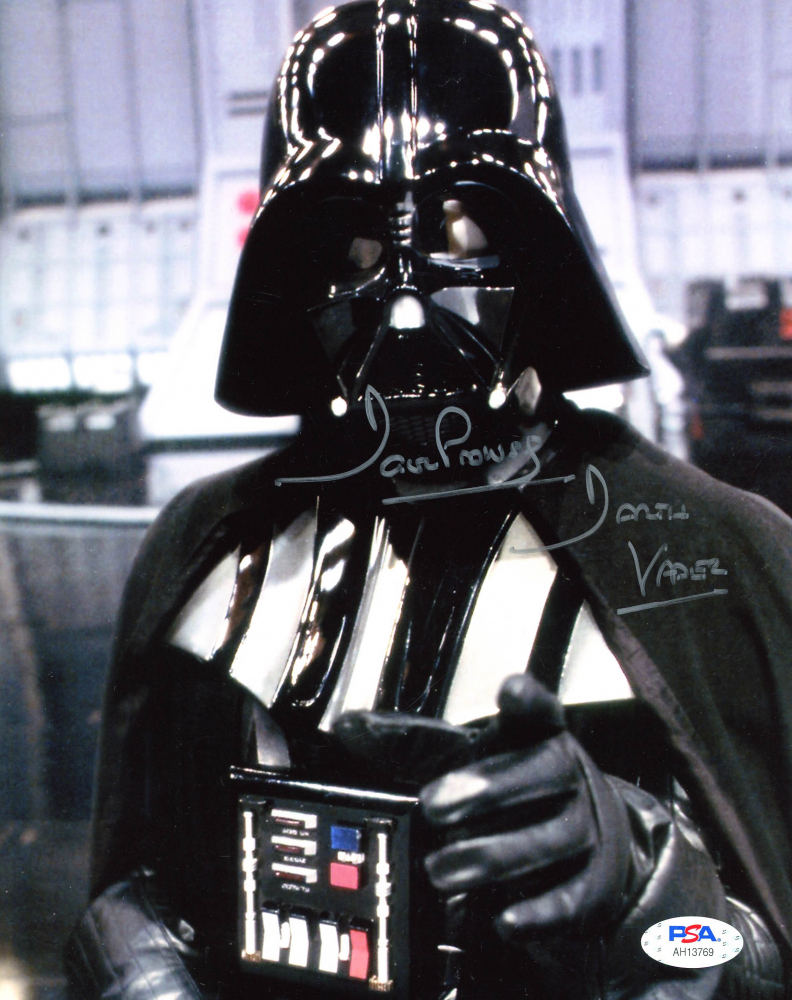 "David Prowse Signed ""Star Wars"" 8x10 Photo Inscribed ""Darth Vader"" (PSA Hologram) at PristineAuction.com"