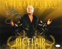 """Ric Flair Signed WWE 11x14 Photo Inscribed """"16x"""" (JSA COA) at PristineAuction.com"""