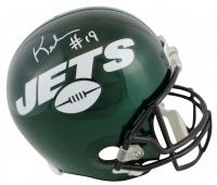 Keyshawn Johnson Signed Jets Full-Size Helmet (JSA COA) at PristineAuction.com