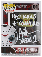 "Ari Lehman Signed ""Friday the 13th"" - Jason Voorhees #01 Funko Pop! Vinyl Figure Inscribed ""146 Kills & Counting"" & ""Jason 1"" (Beckett COA) at PristineAuction.com"