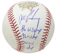 "Doc Gooden Signed Official 2000 World Series Baseball Inscribed ""86 WS Champs"", ""96 WS Champs"" & ""00 WS Champs"" (JSA COA) at PristineAuction.com"