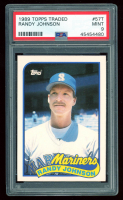 Randy Johnson 1989 Topps Traded #57T (PSA 9) at PristineAuction.com