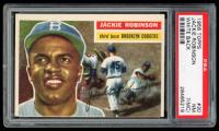Jackie Robinson 1956 Topps #30 DP (PSA 7) (MC) at PristineAuction.com