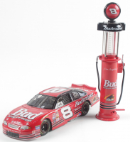 Lot of (2) Dale Earnhardt Stock Car Pieces With #8 Budweiser 2000 Monte Carlo 1:24 Scale Stock Car & #8 Budwesier 1999 Gas Pump at PristineAuction.com