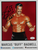 "Marcus ""Buff"" Bagwell Signed WWE 8x10 Photo Print Inscribed ""2018"" (JSA COA) at PristineAuction.com"