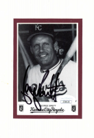 George Brett Signed Royals 3.5x5 Matted Photo Display (JSA COA) at PristineAuction.com
