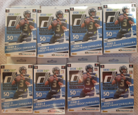 Lot of (8) 2020 Donruss Panini NFL Football Hanger Boxes at PristineAuction.com