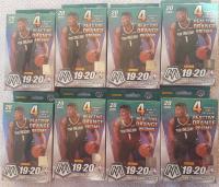 Lot of (8) 2019-20 Panini Mosaic NBA Basketball Hanger Boxes at PristineAuction.com
