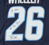 "Blake Wheeler Signed Jets Jersey Inscribed ""All The Best!""  (JSA COA) at PristineAuction.com"