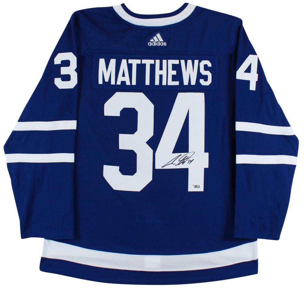Auston Matthews Signed Maple Leafs Jersey (Fanatics Hologram ...