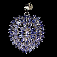 8.75ct Natural Tanzanite Pendant (GAL Certified) at PristineAuction.com