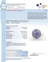 4.30ct Natural Tanzanite Ring (GAL Certified) at PristineAuction.com