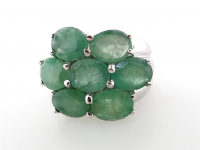11.75ct Natural Emerald Ring (GAL Certified) at PristineAuction.com