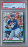 Pete Alonso 2019 Topps Walmart Holiday #HW71 RC (PSA 9) at PristineAuction.com