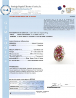 9.50ct Natural Multi-Colored Sapphire Ring (GAL Certified) at PristineAuction.com