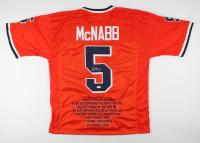 Donovan McNabb Signed Career Highlight Jersey (JSACOA) at PristineAuction.com