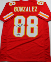"Tony Gonzalez Signed Jersey Inscribed ""HOF 19"" (Beckett COA) at PristineAuction.com"