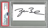 George W. Bush Signed Cut (PSA Encapsulated) at PristineAuction.com