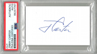 Jimmy Carter Signed Cut (PSA Encapsulated) at PristineAuction.com