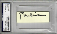 Bill Clinton Signed Cut (PSA Encapsulated) at PristineAuction.com