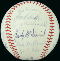 1970 Yankees Baseball Team-Signed by (24) with Thurman Munson, Mel Stottlemyre, Fritz Peterson, Curt Blefary (JSA LOA) at PristineAuction.com