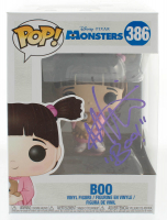 "Mary Gibbs Signed ""Monsters, Inc."" Boo #386 Funko Pop! Vinyl Figure Inscribed ""Boo!"" (JSA COA) at PristineAuction.com"