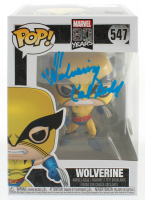 "Cal Dodd Signed ""Marvel 80 Years"" #547 Wolverine Funko Pop! Vinyl Figure Inscribed ""Wolverine"" (JSA COA) at PristineAuction.com"
