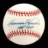 "Harmon Killebrew Signed OML Baseball Inscribed ""HOF 84"" (JSA COA) at PristineAuction.com"