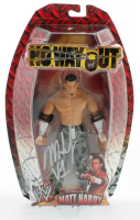 "Matt Hardy Signed WWE No Way Out Action Figure Inscribed ""V1"" (JSA COA) at PristineAuction.com"