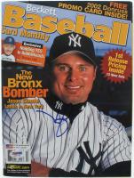 Jason Giambi Signed 2002 Beckett Baseball Card Monthly Magazine (PSA COA) at PristineAuction.com