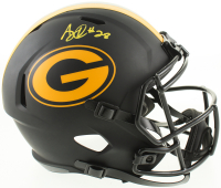 A. J. Dillon Signed Packers Full-Size Eclipse Alternate Speed Helmet (Beckett COA) at PristineAuction.com