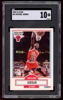 Michael Jordan 1990-91 Fleer #26 (SGC 10) at PristineAuction.com