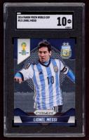 Lionel Messi 2014 Panini Prizm World Cup #12 (SGC 10) at PristineAuction.com