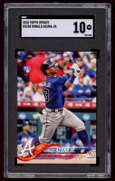 Ronald Acuna Jr. 2018 Topps Update #US250 RC (SGC 10) at PristineAuction.com