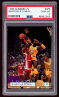 Shaquille O'Neal 1993 Classic LPs #LP9 RC (PSA 10) at PristineAuction.com
