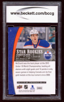 Connor McDavid 2015-16 Upper Deck Star Rookies #1 RC (BCCG 10) at PristineAuction.com