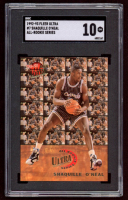 Shaquille O'Neal 1992-93 Ultra All-Rookies #7 RC (SGC 10) at PristineAuction.com