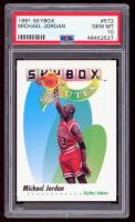 Michael Jordan 1991-92 Skybox - Skybox Salutes #572 (PSA 10) at PristineAuction.com