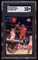 Michael Jordan 1995-96 Upper Deck The Rookie Years #137 (SGC 10) at PristineAuction.com