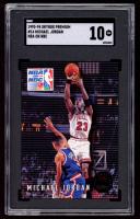 Michael Jordan 1993-94 SkyBox Premium #14 NBA on NBC (SGC 10) at PristineAuction.com