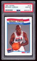 Michael Jordan 1991-92 Hoops #579 USA (PSA 10) at PristineAuction.com