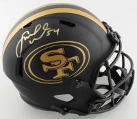 Fred Warner Signed 49ers Full-Size Eclipse Alternate Speed Helmet (Beckett COA) at PristineAuction.com