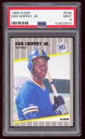 Ken Griffey Jr. 1989 Fleer #548 RC (PSA 9) at PristineAuction.com
