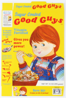 "Ed Gale Signed ""Chucky"" Sugar Coated Good Guys Cereal Box Inscribed ""Chucky"" (PSA COA) at PristineAuction.com"
